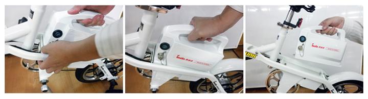 電動摺疊自行車(16吋) 5