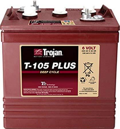 Trojan美國進口6V深循環電池 1