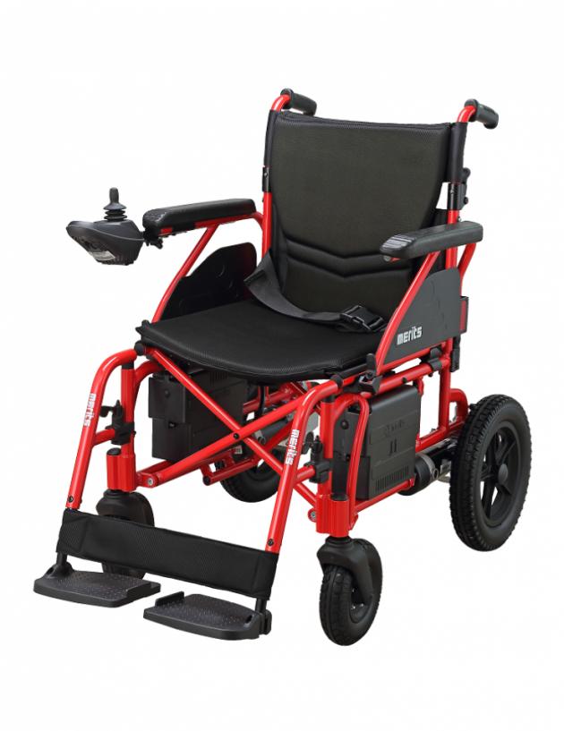 P108 樂行II 鋁製摺疊電動輪椅 1