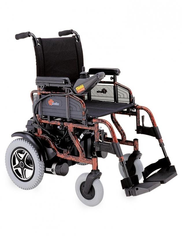 P110管狀可收折電動輪椅 1