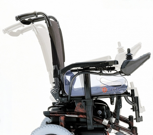 P200 豪華行-多功能可調式電動輪椅 2