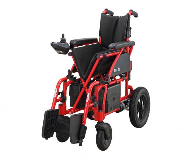 P108 樂行II 鋁製摺疊電動輪椅 3