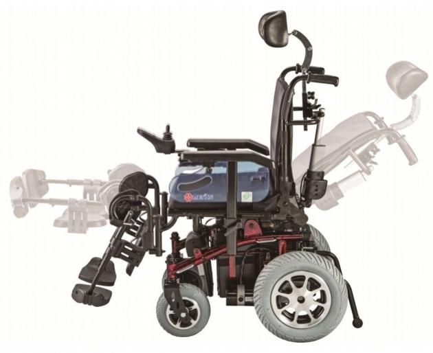 P201 泰坦虎王-多功能康復型電動輪椅 4
