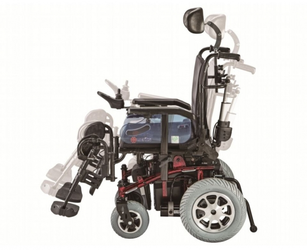 P201 泰坦虎王-多功能康復型電動輪椅 2