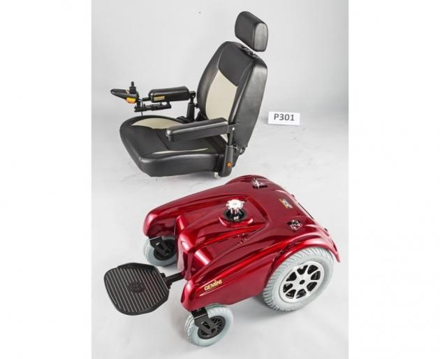 P301 重量型後輪驅動電動輪椅 2